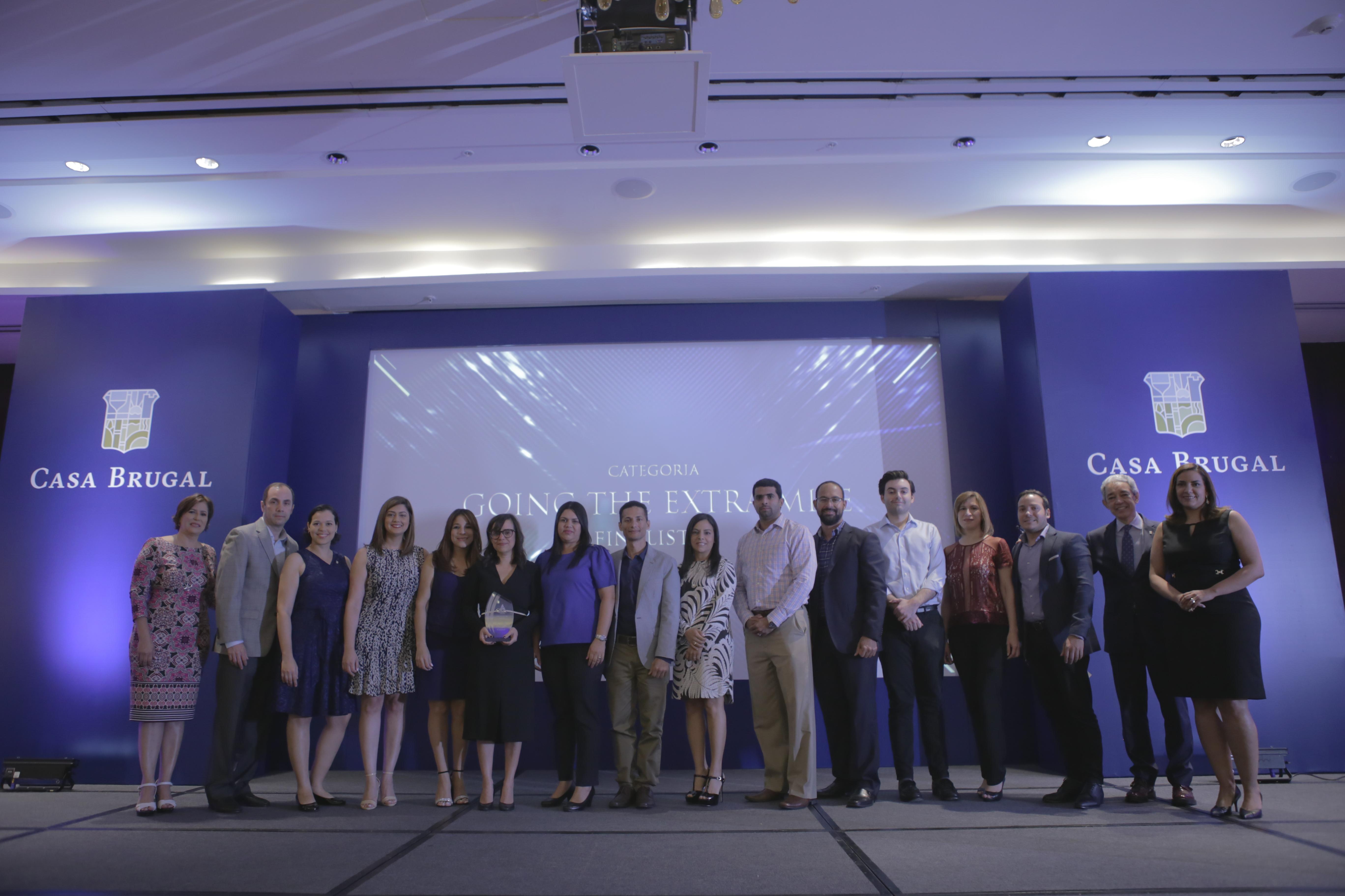 Edrington Achievement Awards Going the Extra Mile - Equipo Nueva Identidad Casa Brugal